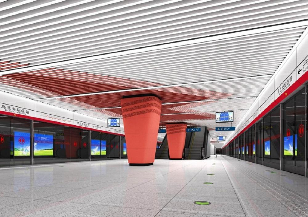 呼和浩特地铁建设项目1号线、2号线建设项目