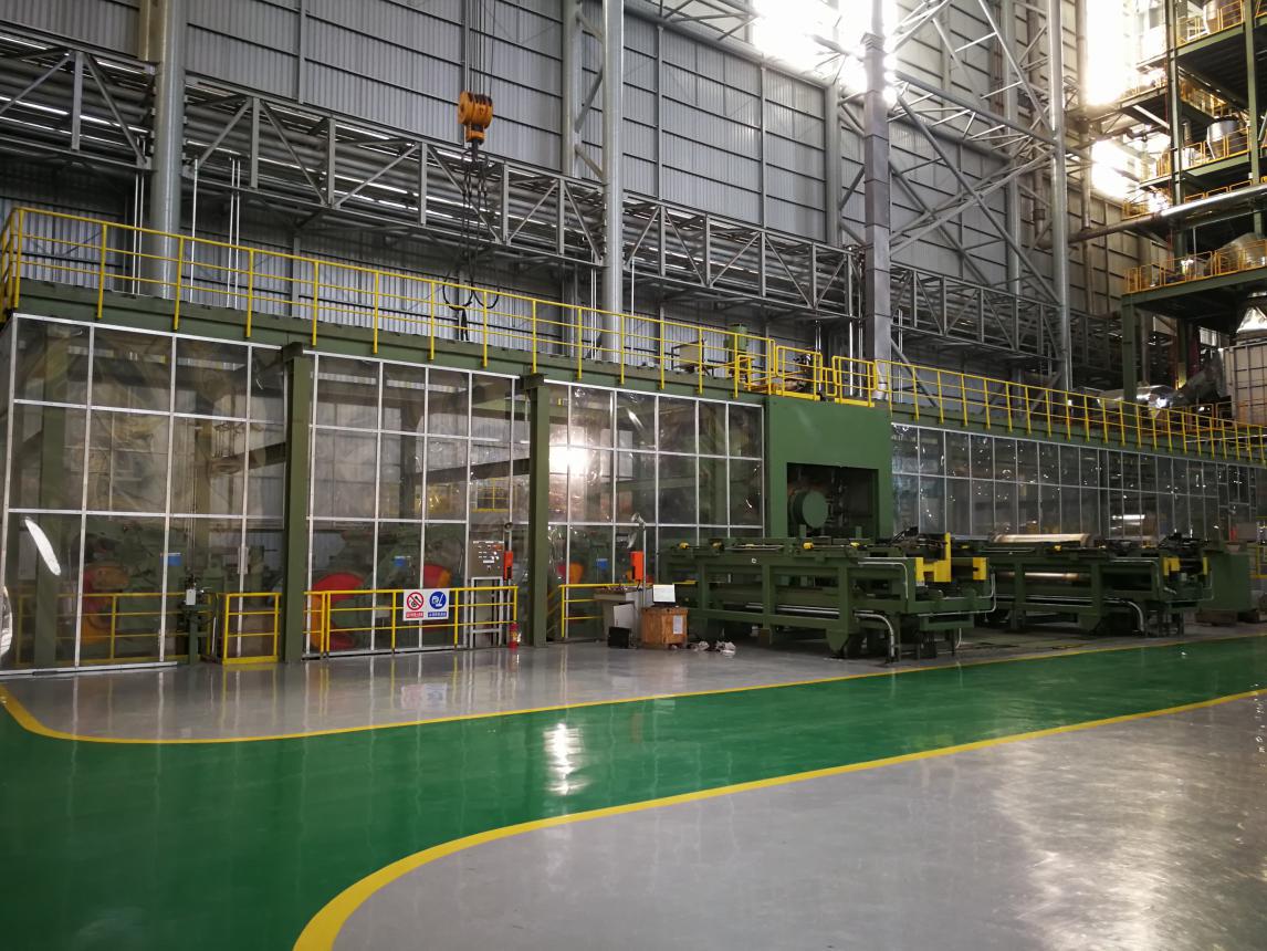 包钢稀土钢板材厂热镀锌生产机组生产线国际乐动体育下载