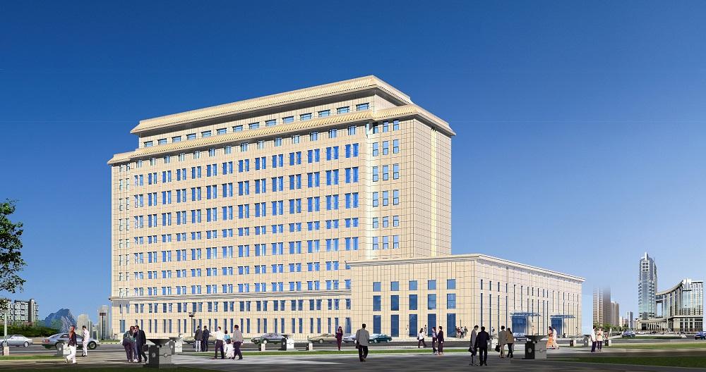 乌兰察布电业局生产调度楼建设项目