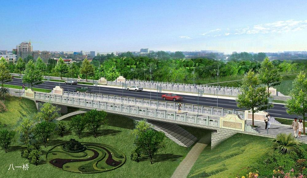 乌兰察布市南沙河整治城市防洪(地下综合管廊建设)综合治理工程