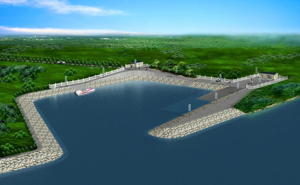 中俄界河(额尔古纳河)室韦船坞建设工程