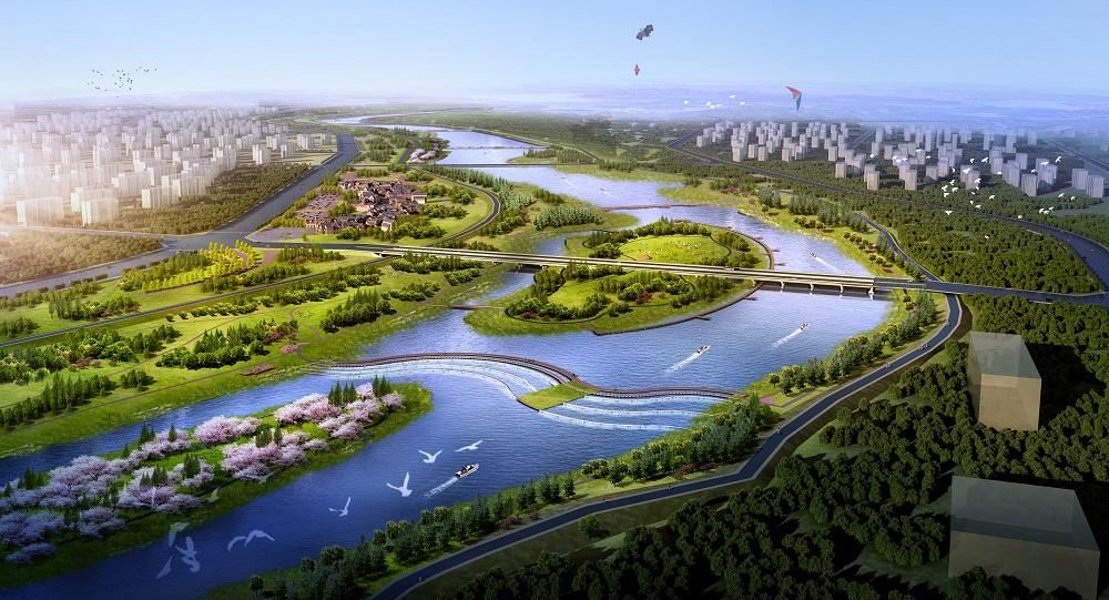 呼和浩特市大黑河景观提质改造工程