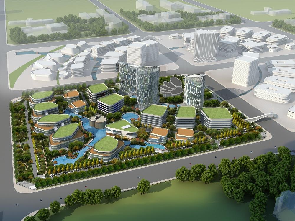 内蒙古和林格尔新区数聚小镇EPC建设项目