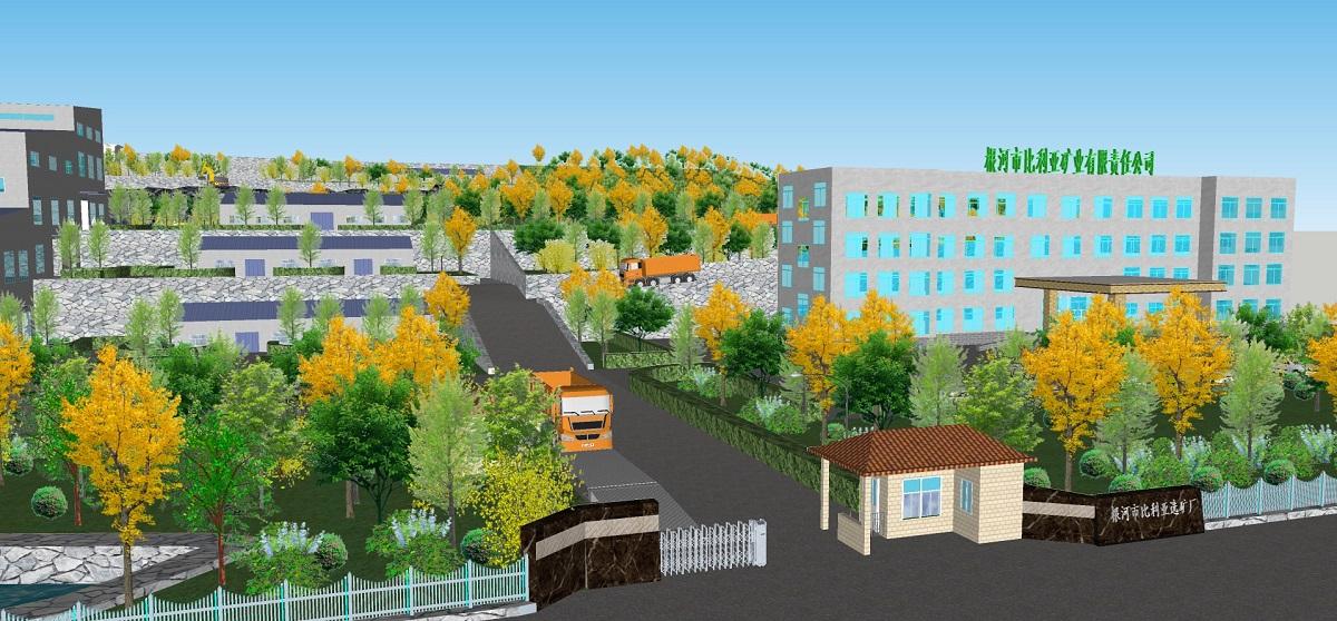 根河市比利亚谷铅锌矿年采选99万吨铅锌矿石建设项目