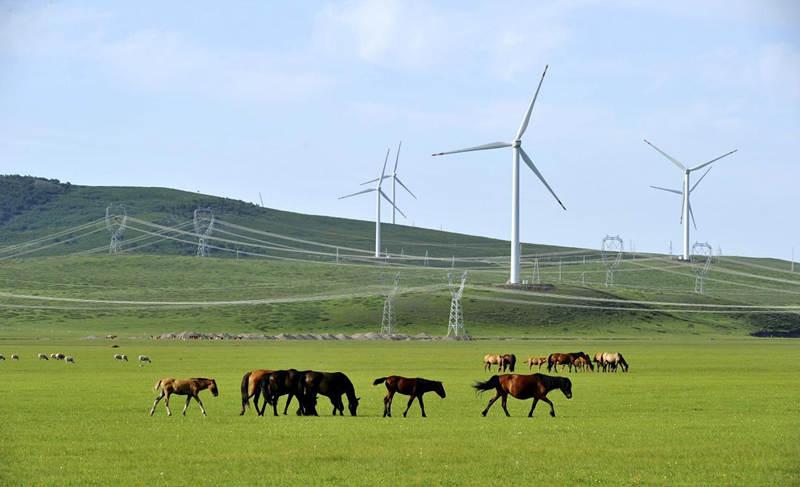 明阳锡林浩特市100MW风电建设项目